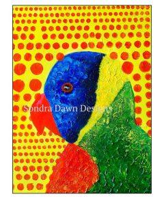 watermarker-raimbow-parrot